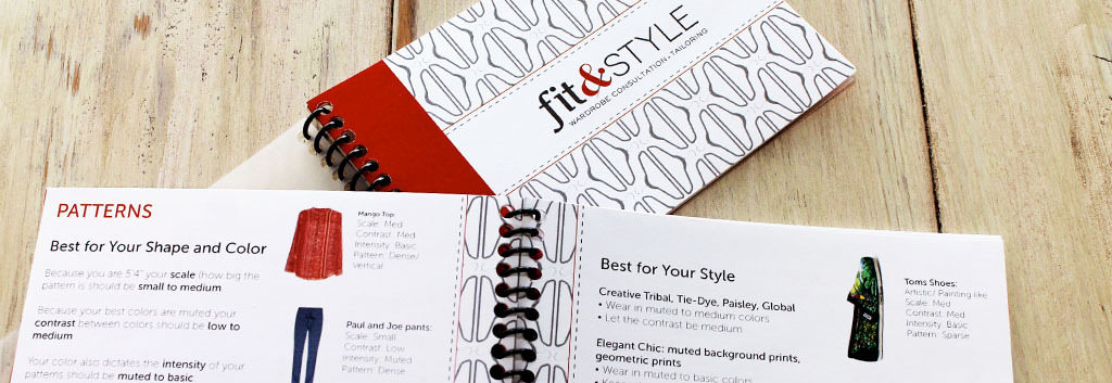 Fit & Style Stylebook
