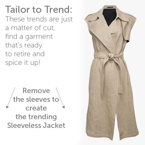 Tailor to Trend: Sleeveless Jackets