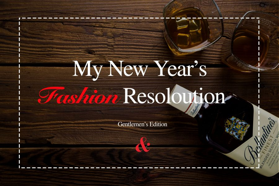 My New Year's FASHION Resoloution – Men